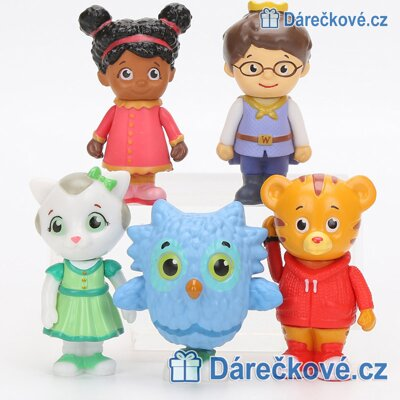 Figurky Sousedi Daniela Tigera (Daniel Tiger´s Neighbourhood)