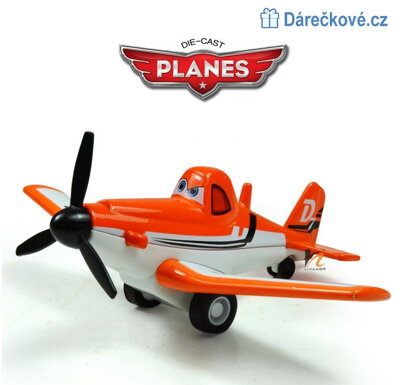Dusty model letadla Pixar Plane 1:64