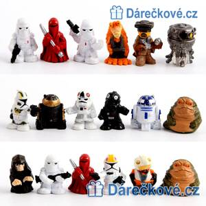 Mini figurky Star Wars, 18 ks