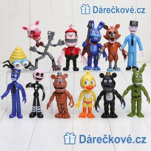 Figurky ze hry Five Nights at Freddy's, 12 ks
