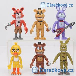 Figurky ze hry Five Nights at Freddy's, 6 ks (3 sety)