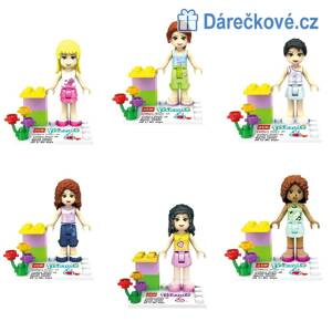 Friends Girls, 6 ks, kompatibilní s Lego