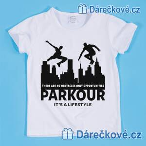 Tričko Parkour – It´s a livestyle